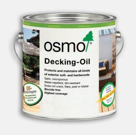 Osmo Decking Oil Bog Oak 2.5ltr 021D