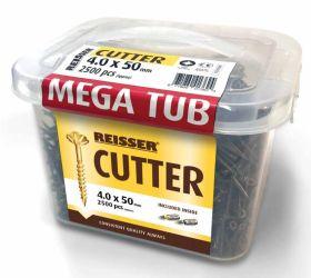 5 x 50mm Reisser R2 Cutter Screws (Mega Bucket) (1900)
