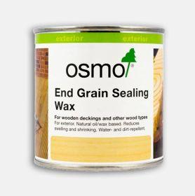 Osmo End Grain Sealing Wax Clear 0.375L