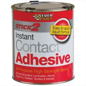 Everbuild Stick 2 Instant Contact Adhesive 750ml