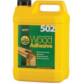 Everbuild 502 Wood Adhesive 5 ltr