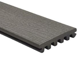 25x140mm Trex Enhance Basic Decking board grooved for secret fixing (3.66 & 4.88m) Clam Shell