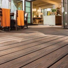 25x140mm Trex Transcend Decking board grooved for secret fixing (3.66 & 4.88m) Spiced Rum