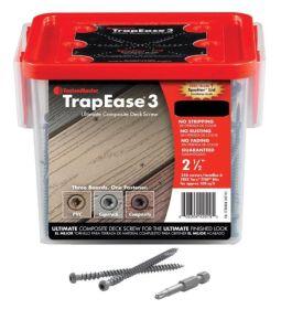 Trex fastenmaster 70mm screws Dark Brown (VL, LR, SR) 350 per box c/w drill bit