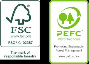 Fsc Pefc logos